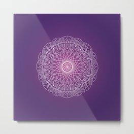 Mandala: Intuition Metal Print