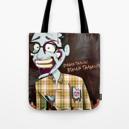 Hipster Zombie Tote Bag