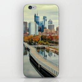 Philadelphia Fall Skyline iPhone Skin