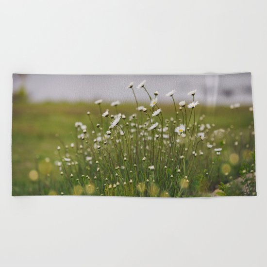 Wild Daisy's  Beach Towel