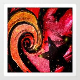 Star Flare Art Print