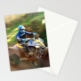ATV offroad racing Stationery Cards