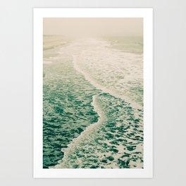 Beautiful Summer Sea Art Print