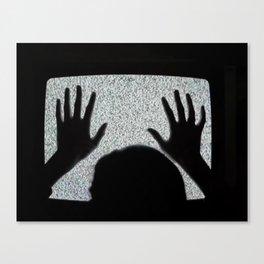 White Noise Canvas Print