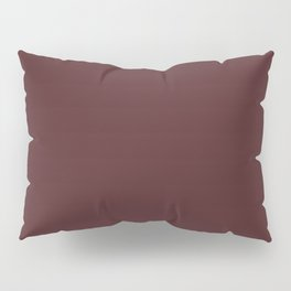 Make Music ~ Chestnut Brown Pillow Sham