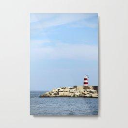 Sea Blocks Metal Print