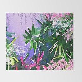 Singapore Summer Throw Blanket