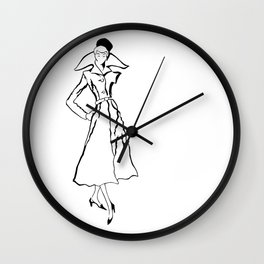 strike a pose, two Wall Clock