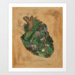 """Out of the Heart..."" Art Print"
