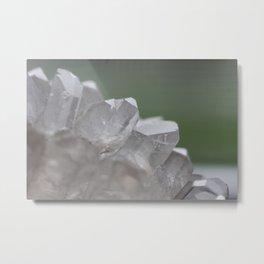 Clear Quartz Metal Print