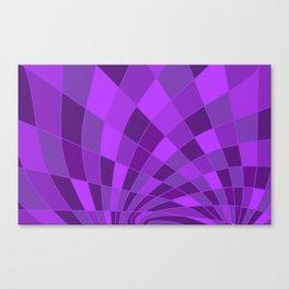 Camaïeu (I) [ Lilac-purple ultra-violet] Canvas Print