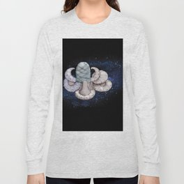 Space station from the fantastic world of the future . artwork Long Sleeve T-shirt