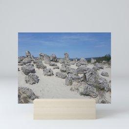 Stone forest Mini Art Print