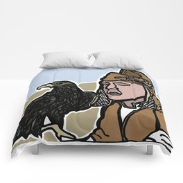 Mongolian Falconer Comforters