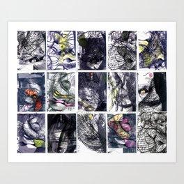 Vuelvo a mí Art Print