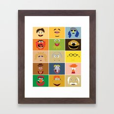 We Are the Muppets Framed Art Print