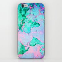 wanderlust iPhone & iPod Skins featuring Wanderlust by ALLY COXON