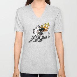 Amaterasu Ink Unisex V-Neck