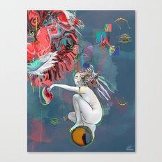 Born To Canvas Print