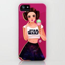 Ice Cream Leia iPhone Case
