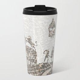 Rome of Gladiators - vintage map Travel Mug