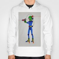 physics Hoodies featuring Alien Physics  by DApple