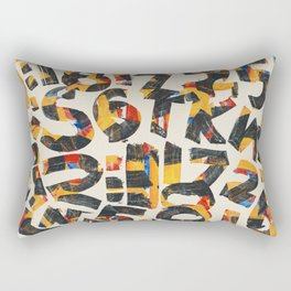 Pattern Number 24 Rectangular Pillow
