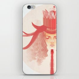 Crown Ruby iPhone Skin