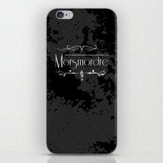 Harry Potter Curses: Morsmordre iPhone & iPod Skin