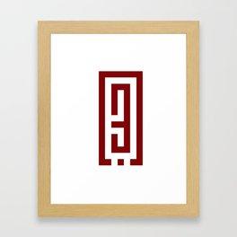 حب Love Framed Art Print