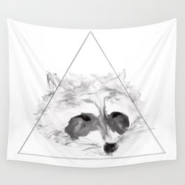 Racoon Wall Tapestry