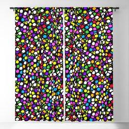 Bubble GUM Colorful Balls Blackout Curtain