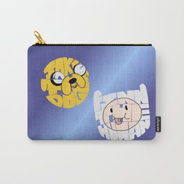 Finn the Human and Jake the Dog Carry-All Pouch