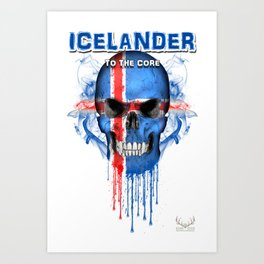 To The Core Collection: Iceland Art Print