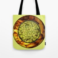 pasta Tote Bags featuring Pasta + Beans by romano