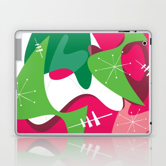 Retro Romp Laptop & iPad Skin