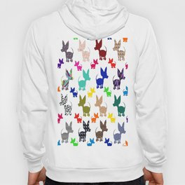 colorful chihuahuas on parade  Hoody