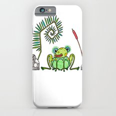 Frog, Fern, Bulrush and Rocks iPhone 6s Slim Case