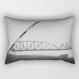 Louisville Kentucky Bridge Rectangular Pillow
