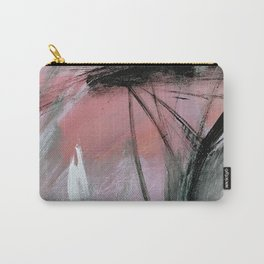 Train of thought [2]: a pretty abstract mixed media piece Carry-All Pouch