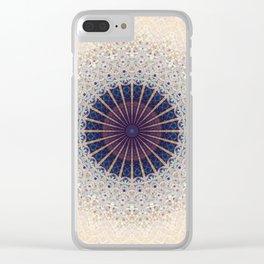 Mandala Drawing design Clear iPhone Case