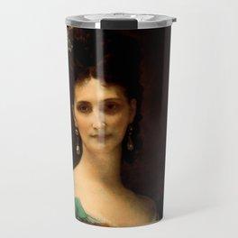 """Alexandre Cabanel """"La Comtesse De Keller (marquise de Saint Yves d'Alveydre)"""" Travel Mug"""