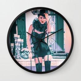 5024 Lady Mistress Natasha Wall Clock