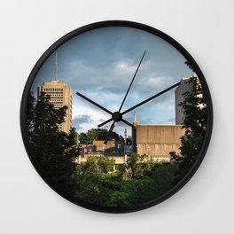 Charest park - Old qubec #2 Wall Clock