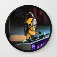 minion Wall Clocks featuring Minion by Duitk