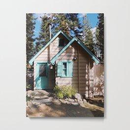Stevie's Lake Tahoe Cottage Metal Print
