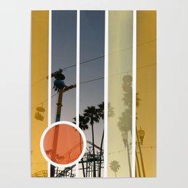 Boardwalk Nights Poster