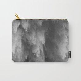 Waterfall print, Nature, Scandinavian, Wall Art, Minimal, Modern Carry-All Pouch