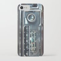 mercedes iPhone & iPod Cases featuring Vintage Radio Becker Europa by Premium