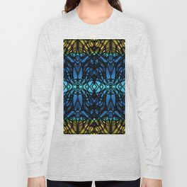 Fractal Art Stained Glass G315 Long Sleeve T-shirt